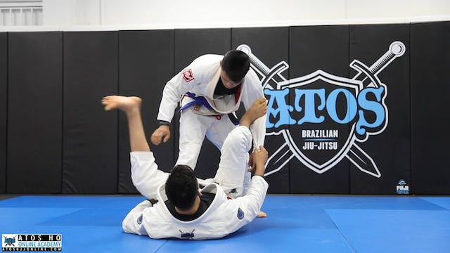 Spider Guard Using X Guard Hook to Sw...