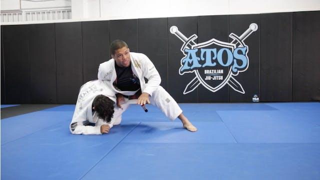 Loop Choke from Single Leg Defense wi...
