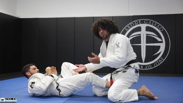 Sweep From Sit Up Guard With the Option to Back Take