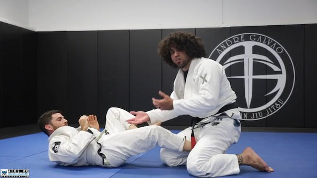 Sweep From Sit Up Guard With the Opti...