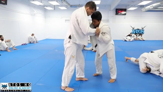 Comp Class Sparring: Black Belt Rafae...