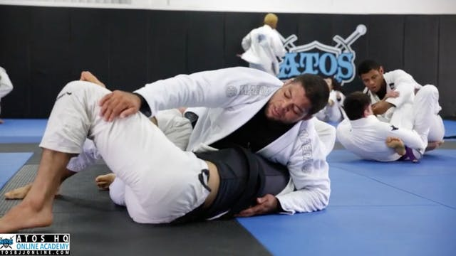 sparring - professor Andre Galvao rol...