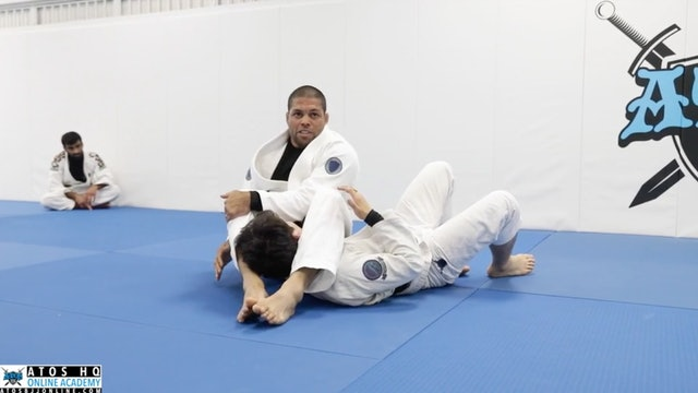 Top Spin Overhead Step With Variation to Omoplata | Concepts & Details