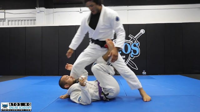 Over Head Step X Guard Pass With Unde...