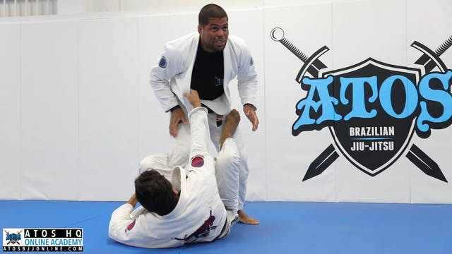 Pressure Pass: Super Knee Cut To Side Smash