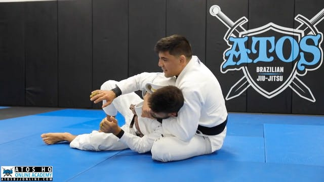 Back Take From Side Control