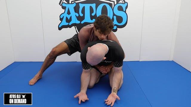 Turtle Escape When Opponent has Body Lock