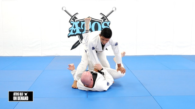 Opening the Closed Guard & Knee Cut from Knee Shield Guard