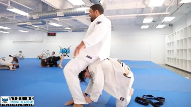 Galvao vs One of His Talented Brown B...