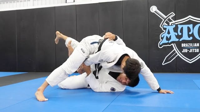 2 Back Takes Form Butterfly Guard