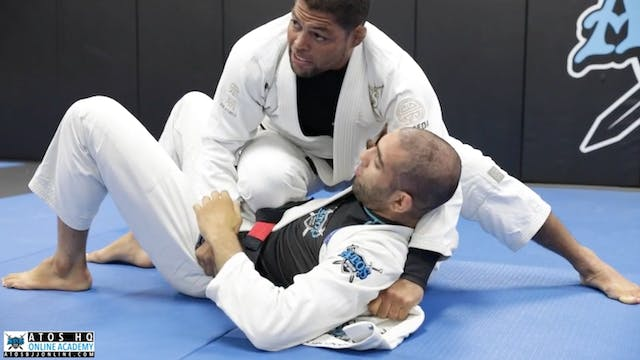 Knee On Belly From Side Control + Tri...