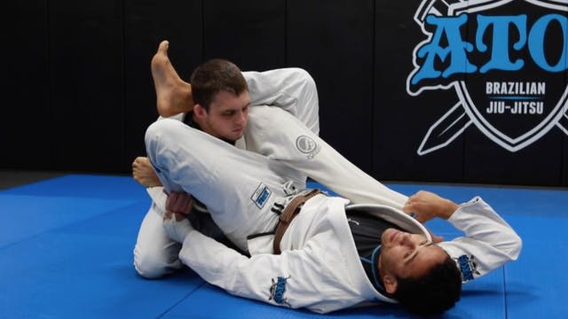 Triangle From Spider Guard with Shin-...