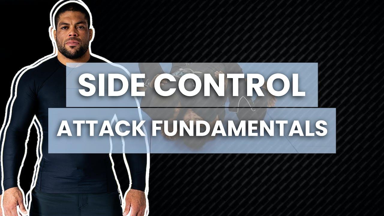 Side Control Attack Fundamentals | Andre Galvao