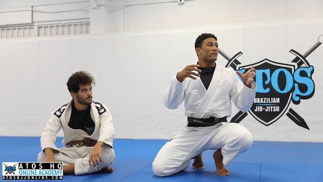 One Leg X Sweep From Butterfly Guard