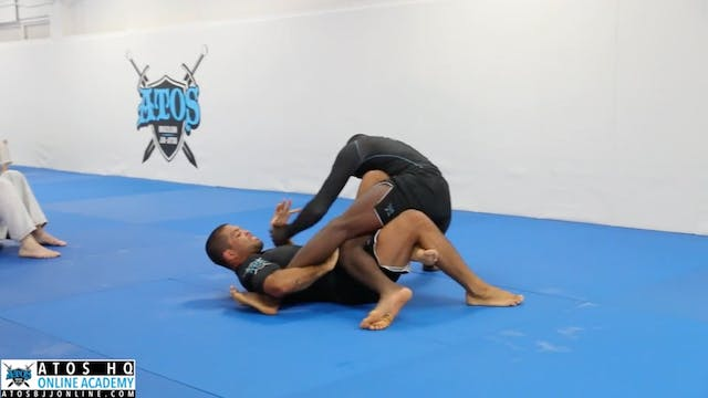 Comp Class Sparring Between World Cha...