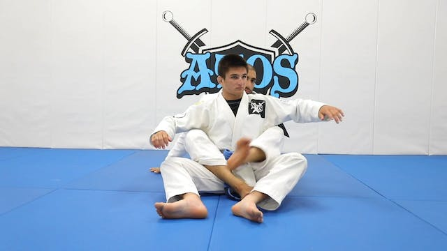 Back Control With Bow and Arrow Choke...