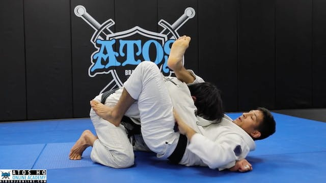 Simple But Powerful Closed Guard Whiz...