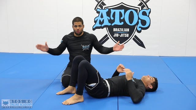 """The Arm Trap to """"S"""" Mount Triangle Choke"""