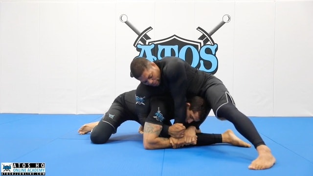 Kimura Trap When Opponent Single Leg + Back Take