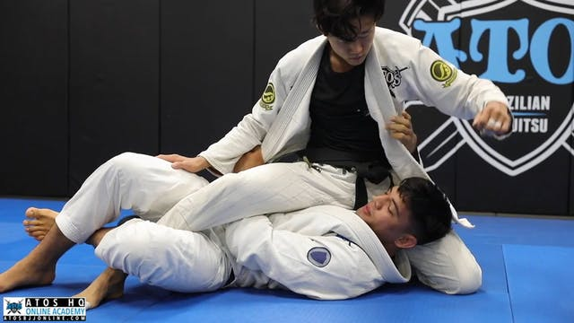 Take the Back From Deep Half Guard