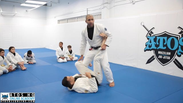 Throw By Pass From De la Riva Guard -...