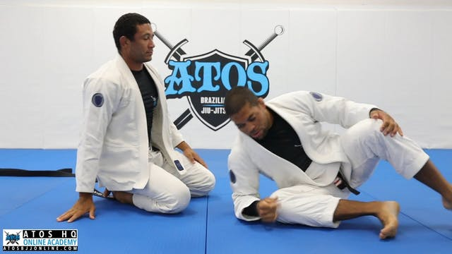 Triangle submission from side control & powerful knee cut pressure