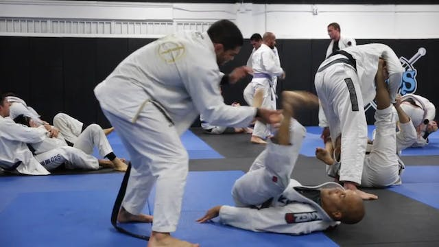 Sparring - professor Andre Galvao wit...