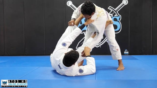 Omoplata from Collar and Sleeve