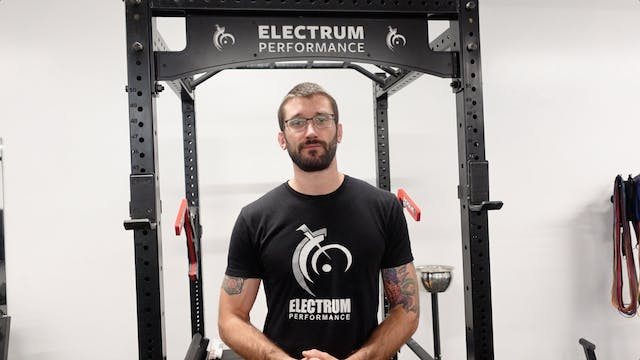 Local Muscular Endurance - Ramping Up and Working Sets