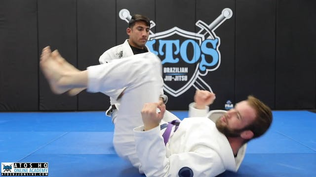 Squid Guard Set Up From Closed Guard