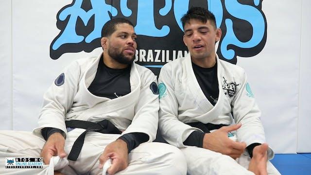 Andre Galvao Interviews Champ Liera Jr