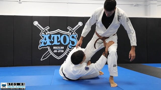 One Leg X & X Guard Entries From Sit ...