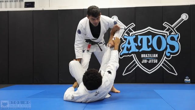 Two Options for Passing Single Leg X ...