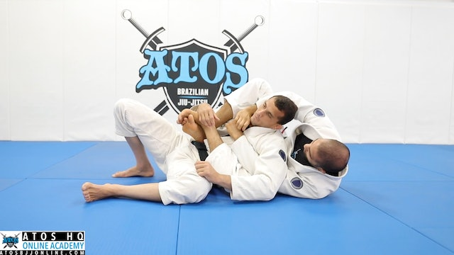 Bow & Arrow Choke With Transition to Arm Bar - Kid's Class