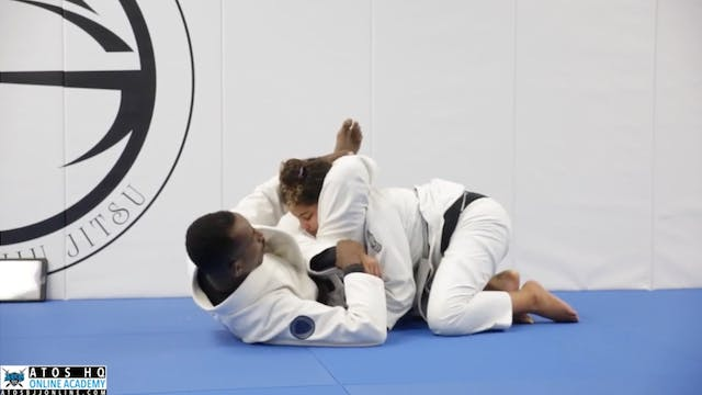 Sneaky Triangle & Omoplata Attack Fro...