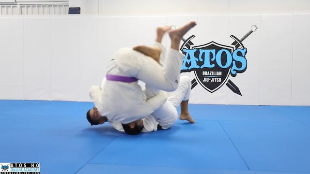 Lasso Sweep From Spider Guard