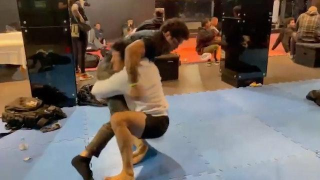 Behind The Scenes: Lucas Barbosa Warm Up Drills BJJ BET II