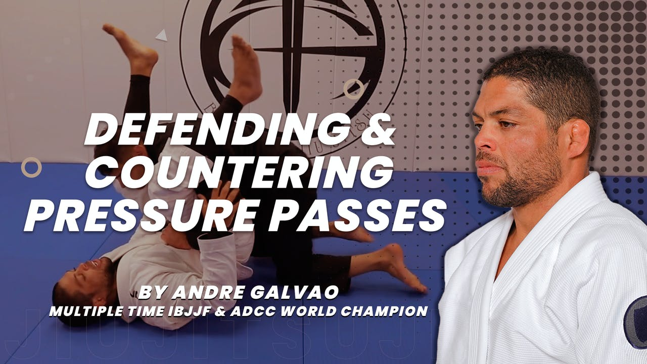 Defending & Countering Pressure Pass by Galvao