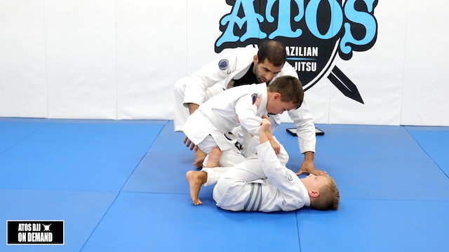 Reverse DLR Sweep & Long Step - Kid's Class