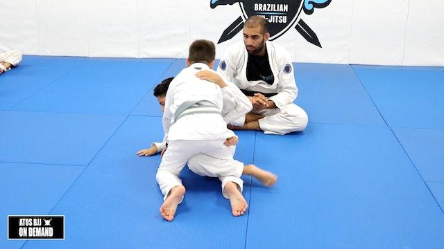 Knee Shield Underhook Sweep - Kid's Class