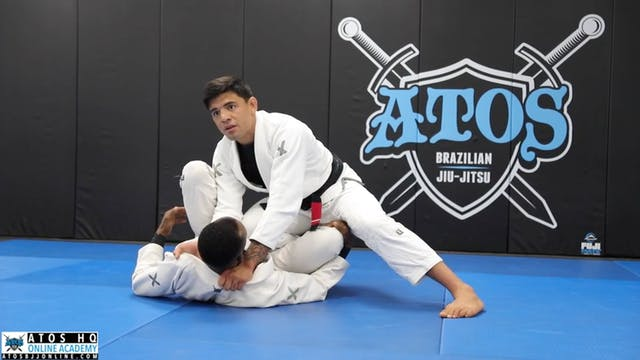 Knee Cut Pass from Forced Reverse DLR...