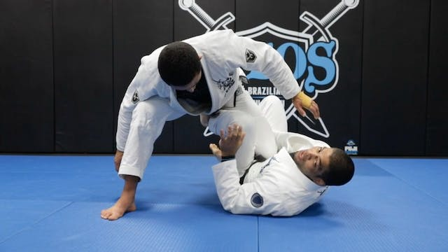 Sweeping Using One Leg X Guard and Pa...