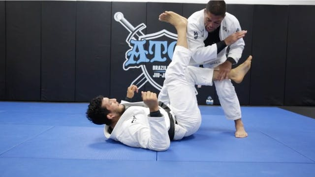 Back Take From Leg Drag By Galvao