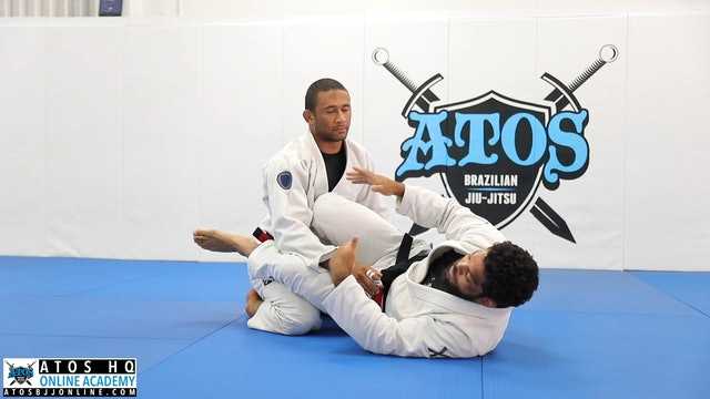 Black Belt Scissor Sweep With Advanced Details
