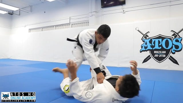 Sit Up Single Leg Sweep Attack By And...
