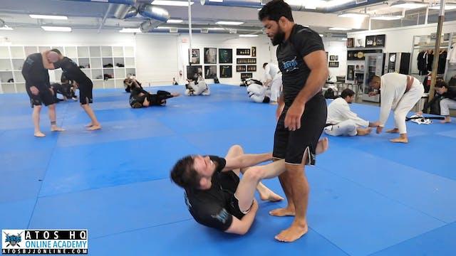 Galvao Having Fun With One of His Stu...