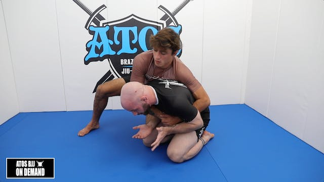 Turtle Defense Front Roll