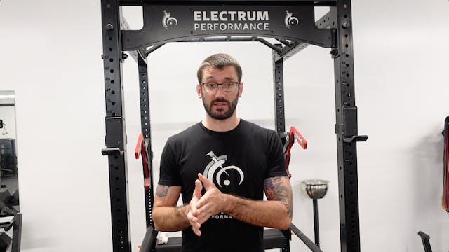 Anaerobic Power - Ramping Up and Working Sets
