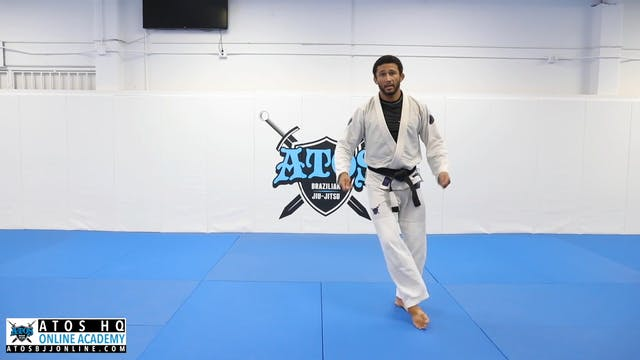 Foot Sweep Drill