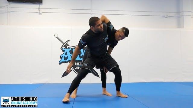 Head & Arm Control Takedown